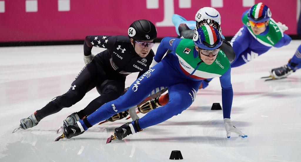 Short Track, l'Italia riprende il lavoro di preparazione sul ghiaccio di Bormio