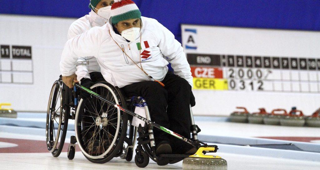 Wheelchair curling, a Cembra un raduno con rotta su Pechino