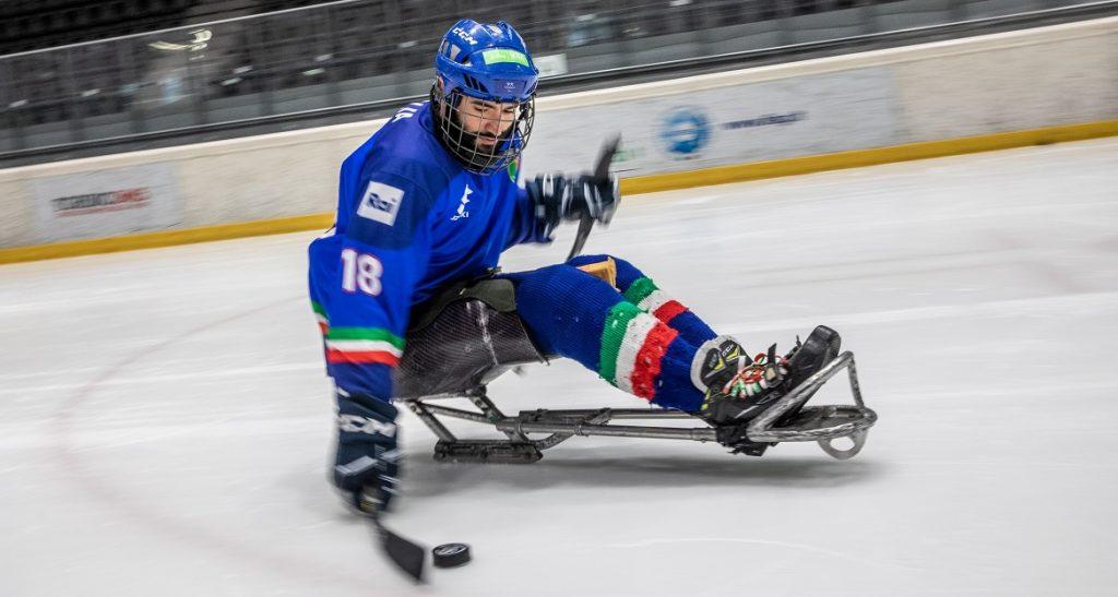 Para Ice Hockey, tris di vittorie per l'Italia nelle amichevoli contro la Germania