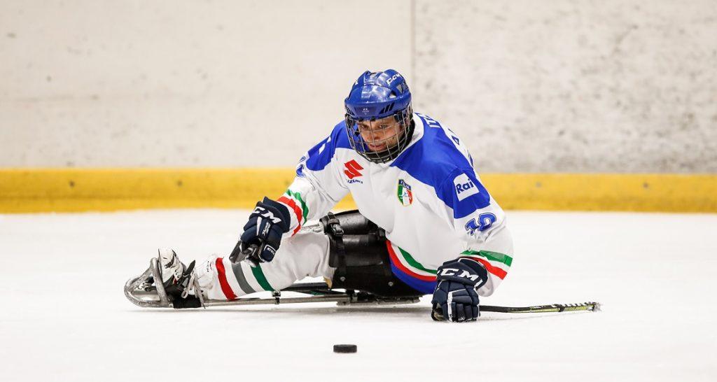 Para Ice Hockey, a Fondo tris di amichevoli per l'Italia contro la Germania