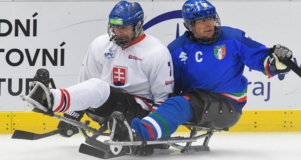 Para Ice Hockey, Mondiali di Ostrava: l'Italia cede 3-1 alla Slovacchia