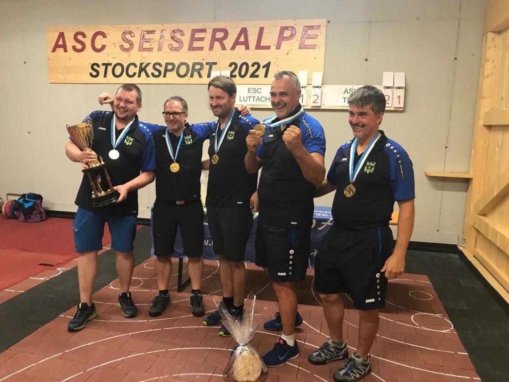Stock sport, le finali del Campionato Italiano di gioco a squadre Serie A maschile