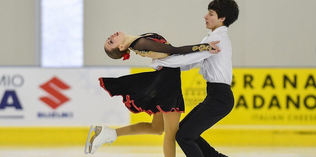 Figura, ISU Grand Prix Junior: Tali-Frasca chiudono dodicesimi nella danza. Zich 14°