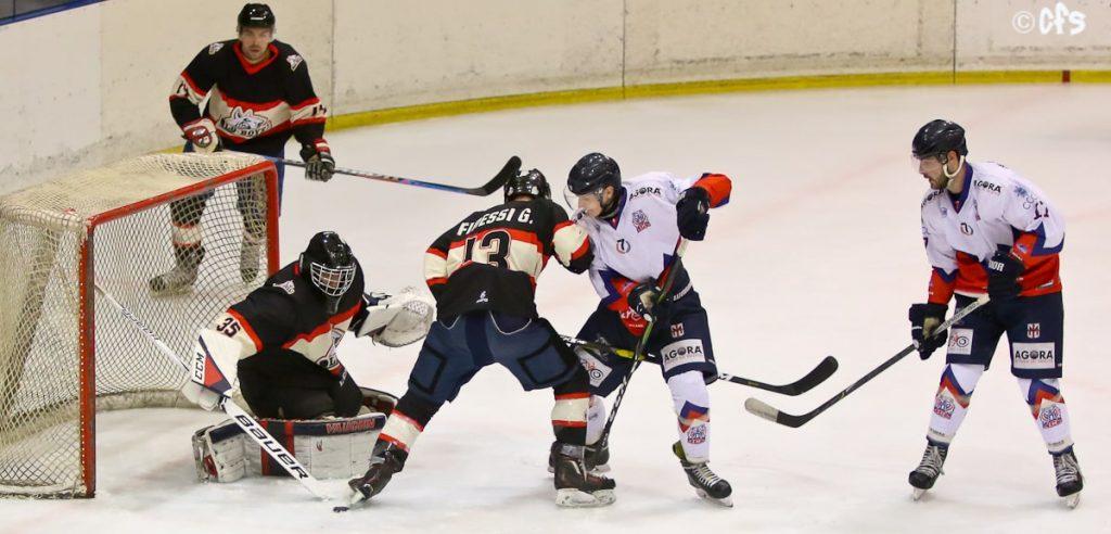 IHL – Division I, nel G. Ovest vincono Bulldogs, Real e Bears. Nel G. Est, bene Pinè e Feltre