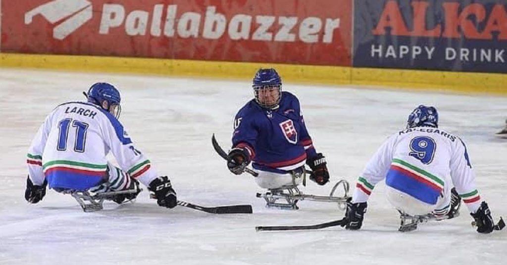 Para Ice Hockey, due vittorie per l'Italia a Egna nel test con la Slovacchia