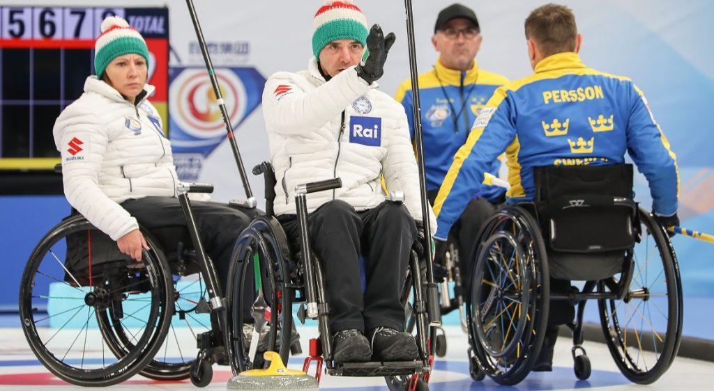 Wheelchair Curling, Mondiali Gruppo A: doppio k.o. azzurro nella seconda giornata di gare