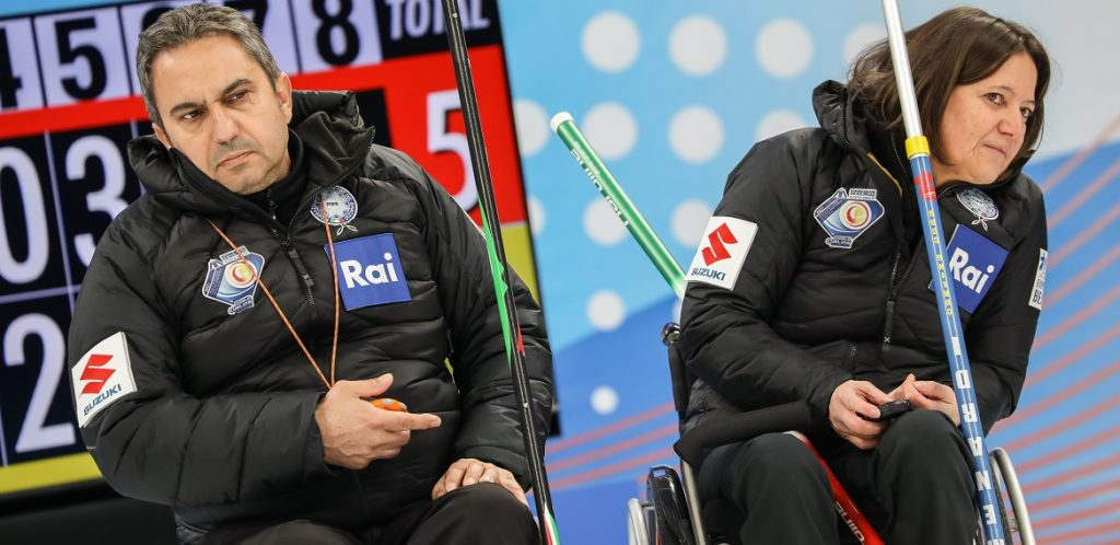 Wheelchair Curling, Mondiali Gruppo A: l'Italia si piega alla Corea ma poi supera la Slovacchia