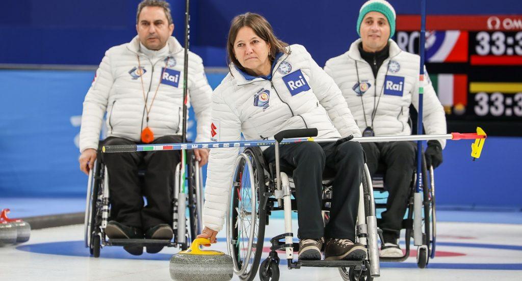 Wheelchair Curling, Mondiali Gruppo A: l'Italia in lotta per evitare la retrocessione